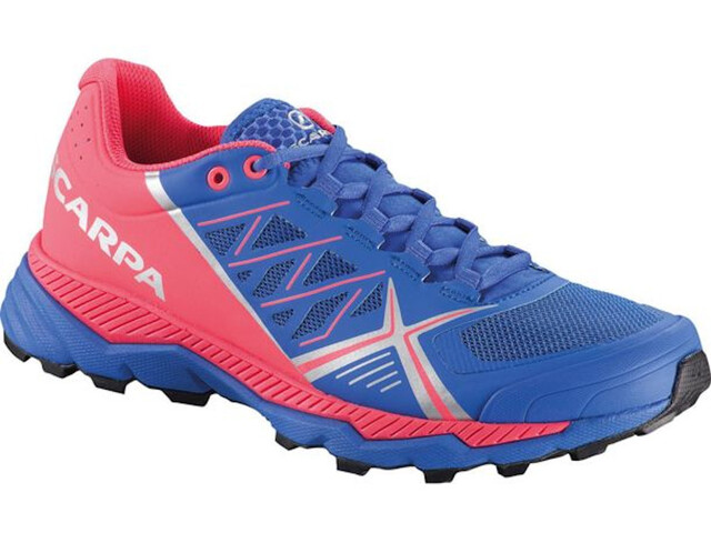 Scarpa Spin RS Zapatillas Mujer, dazzling blue/punch fluo